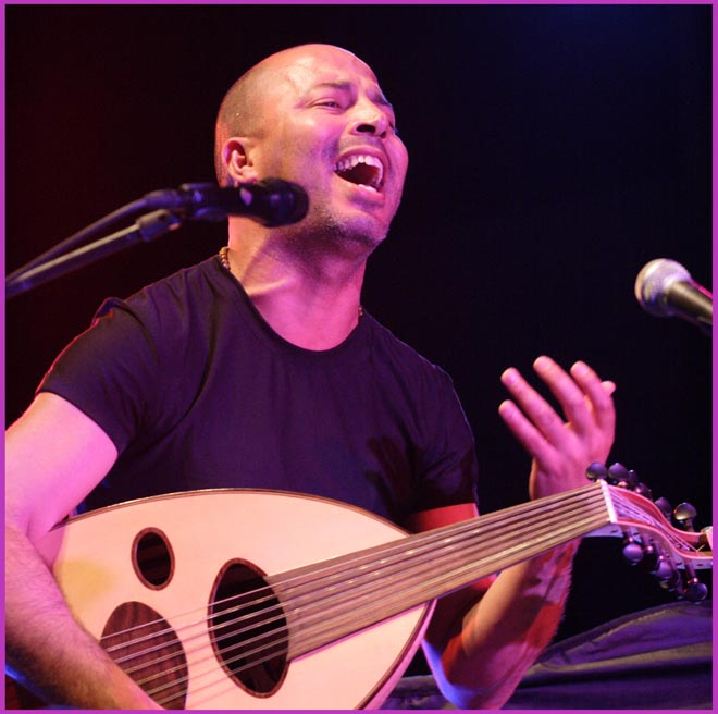 Dhafer Youssef 08/07/2006 in Riga © by Dainis Bushmanis